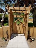 Unique Gates by Gopher Wood Construction Inc