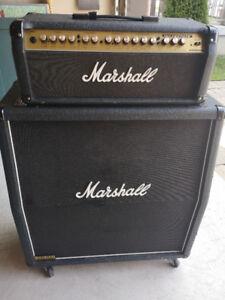 Marshall amp half stack: Valvestate 100 head w/ JCM900 1960 cab
