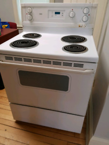 "Roper 30"" electric range"