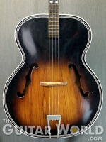 HARMONY H1215T ARCHTOP TENOR 4 STRING GUITAR