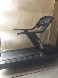 Life Fitness 9500hr treadmills