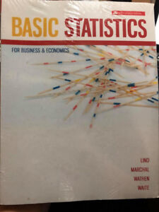 Basics Statistics for Business and Economics – Fifth Canadian Ed