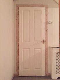 White internal doors x12