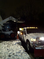 Commercial Snow Removal - Snow Plowing