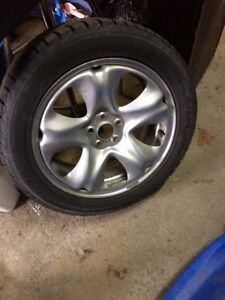 Snow tires with rims  Cornwall Ontario image 1