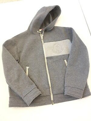Moncler Men's Neoprene Logo Zip-up Hoodie