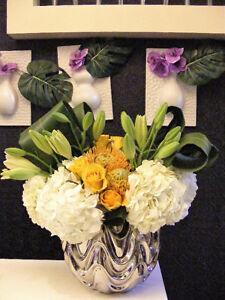 Save money!weddings bouquets center pieces backdrop decor
