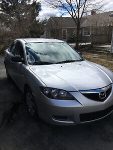 2007 Mazda 3 Sedan – Low KM @ 103K and well undercoated