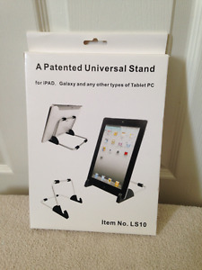 Quick Aluminum Tablet Stand for Tablet & E-Readers