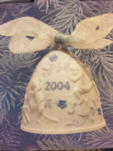 Lladro ornaments with box, stamp and numbered 2004;1992 no box