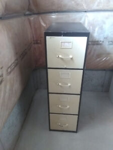 Tall 4-Drawer Steel Filing Cabinet