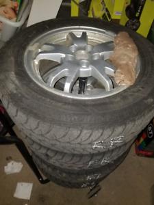 Good Years Winter tire on Rims