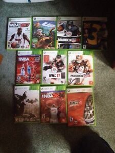 10 Perfect Condition Xbox 360 Games