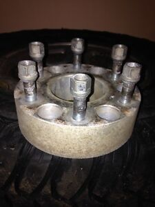 6 Bolt Chev Wheel spacers with hardware