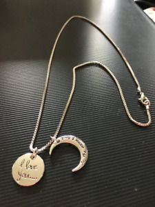 BN love you to the moon & back necklace