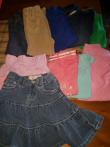 Sized 3t -4t toddler girls lot and Geox