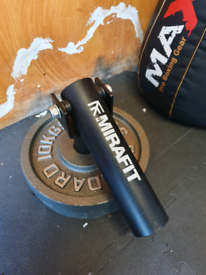 """Landmine attachment for Olympic 2"""" 50mm barbell by Mirafit"""