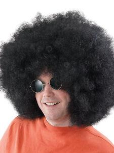 Super Giant Huge Afro Wig Black Fancy Dress Party Disco 60s 70s Fancy Dress New