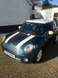 Mini Cooper 1.6 2007 72000 immaculate