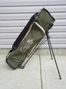 King Cobra golf bag - self standing, complete with cover.