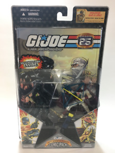 GI Joe 25th Anni Battle Damaged Snake Eyes & Storm Shadow