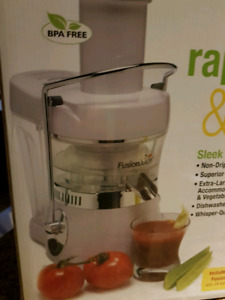 Fusion Juicer - Brand New