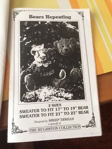 Knitted sweater patterns for Stuffed Bears Sarnia Sarnia Area image 3