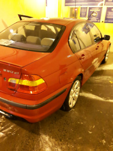 red bmw 330xi 2004 m package