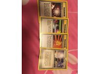 Pokemon trainer card collection