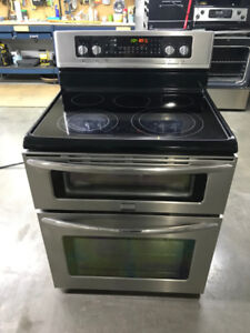30 INCH STAINLESS STEEL DOUBLE OVEN WITH LOWER CONVECTION