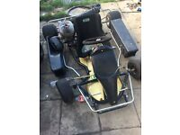Arc go cart racing cart massive spec