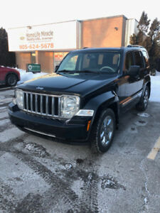 2008 Jeep Liberty Limited Leather, Sunroof (Certified)