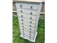 Refurbished Solid Wood Tall Chest of Drawers /Can Deliver