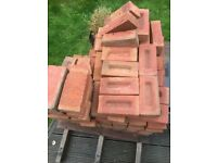 Red building bricks