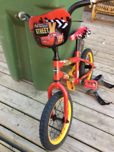 Boy bicycle 14 inch with training wheels