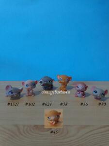 Littlest Pet Shop LPS Lot - Hamster Gerbil Mouse Rat