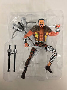 Spiderman's Kraven with accessories, made in 2004. Loose.