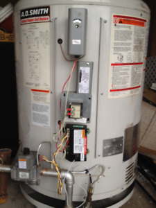 Gas Water Heater for Large amounts of water