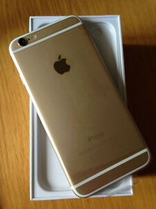 APPLE IPHONE 6 PLUS 16GB GOLD(BELL/VIRGIN MOBILE )(LIKE NEW)