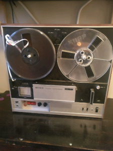 Sony Reel to Reel Tape Player