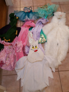 Costumes for Halloween, Dance and Dress Up!!! Size 3-5