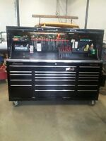 Black Snap-on Classic 96 with hutch