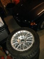 BMW 5 series E39 rims on Nokian 225 55 R16 winter tires