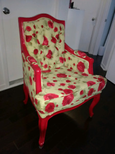 Fauteuil Shabby Chic