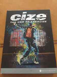 BNIB Cize the end of exercise dvds