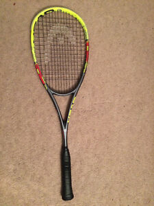 Used Squash and Tennis Racket