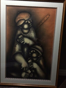 Valuable David Mbele's African Visual Art Painting ($Reduced)