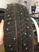 195/65R16  Studded  Winter Tires