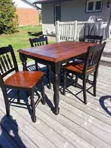Ashely counter height dinning room table