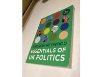 Andrew Heywood Essentials of UK Politics